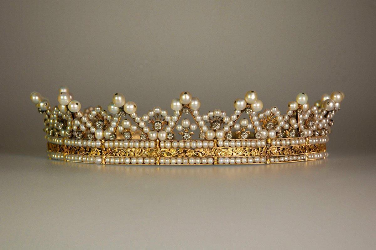 Diadem der Großherzogin Stéphanie von Baden