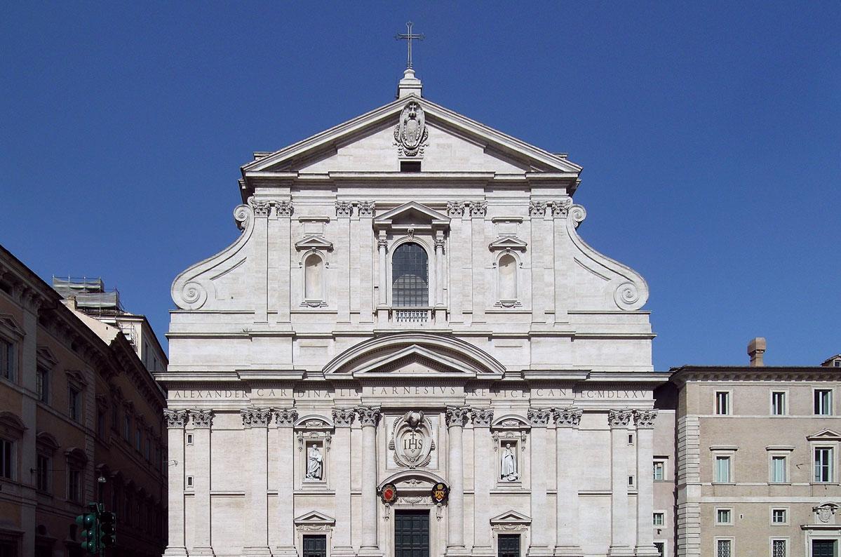 Die Kirche Il Gesù in Rom, Mutterkirche des Ordens; Foto: Wikipedia, gemeinfrei