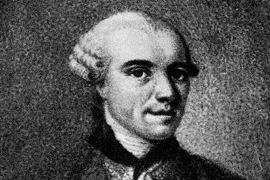 Cosimo Alessandro Collini. Image: Wikipedia, in the public domain