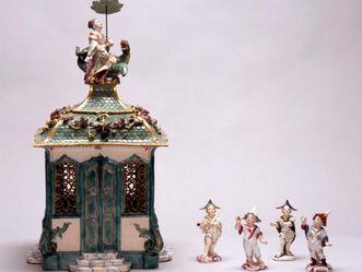 Barockschloss Mannheim, Detailansicht chinesisches Teehäuschen