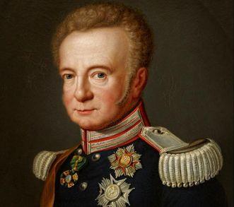Portrait Großherzog Ludwig von Baden, von 1820