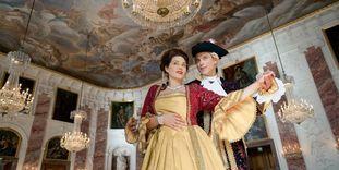 Fest im Barockschloss Mannheim.