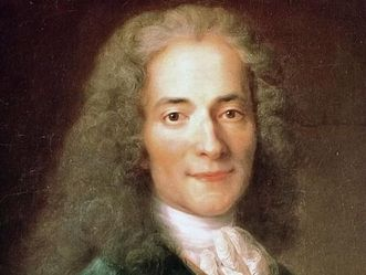 François Marie Arouet, aka Voltaire, portrait by Nicolas de Largillière. Image: Wikipedia, in the public domain