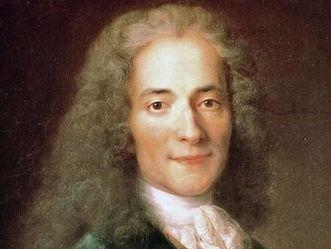 François Marie Arouet, genannt Voltaire, Porträt von Nicolas de Largillière