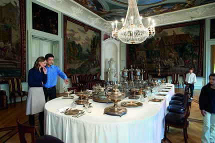 Mannheim Baroque Palace, Dining hall