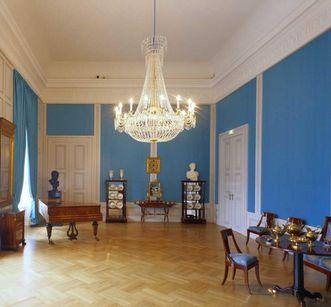 Music Room in Mannheim Palace. Image: Staatliche Schlösser und Gärten Baden-Württemberg, Dirk Altenkirch