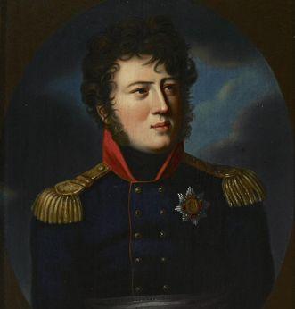 Portrait of Grand Duke Carl von Baden, early 19th century. Image: Staatliche Schlösser und Gärten Baden-Württemberg, Arnim Weischer
