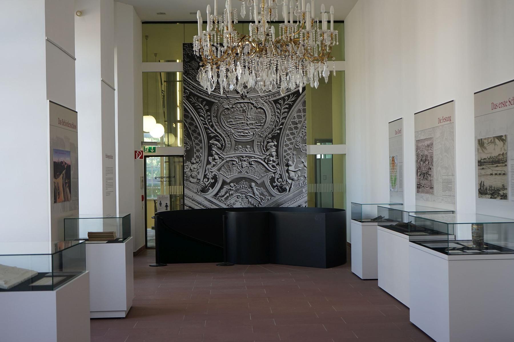 """Barockschloss Mannheim, Ausstellungsbereich """"Das Schloss durch die Jahrhunderte"""""""