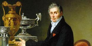 Ausschnitt aus dem Porträt Jean-Baptiste-Claude Odiot