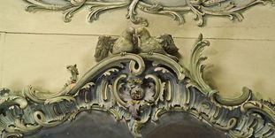 Stuckornamente im Bibliothekskabinett von Schloss Mannheim