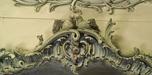 Image: Stucco ornamentation in the Library Cabinet of Mannheim Palace