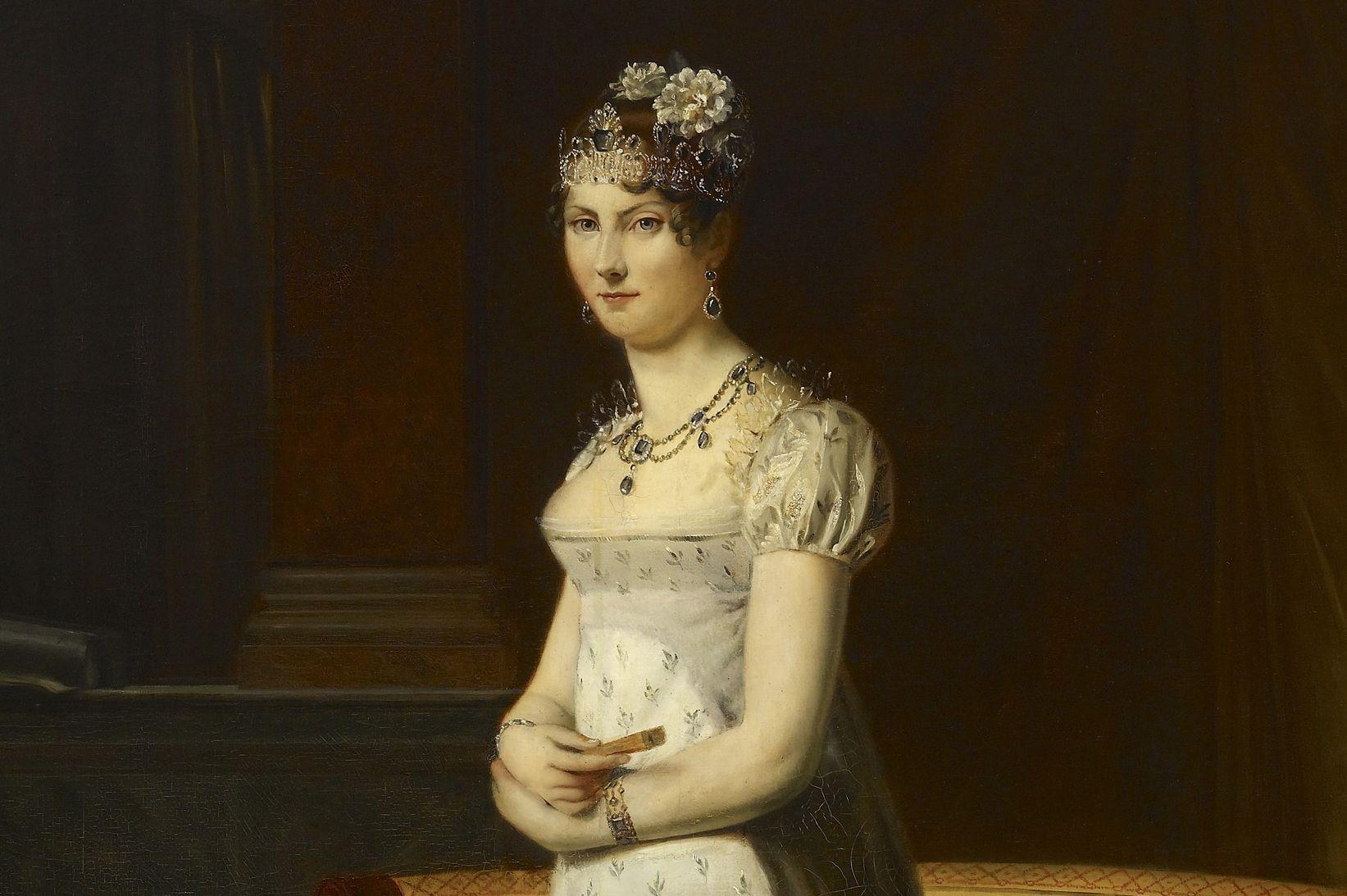 Bildnis Großherzogin Stephanie von Baden aus dem Barockschloss Mannheim