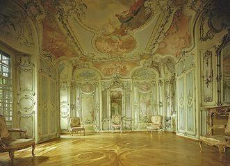 Library Cabinet in Mannheim Palace. Image: Staatliche Schlösser und Gärten Baden-Württemberg, credit unknown