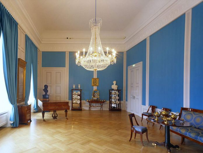 Mannheim Baroque Palace, Music room