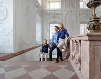 Château Baroque de Mannheim, Visiteurs dans le château