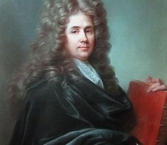 Porträt des französischen Hofbaumeisters Robert de Cotte