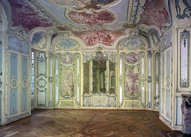Mannheim Baroque Palace, Reading room in library