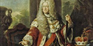 Bildnis Kurfürst Karl Philipp von der Pfalz, Pierre Gaudréau um 1730, Schloss Mannheim