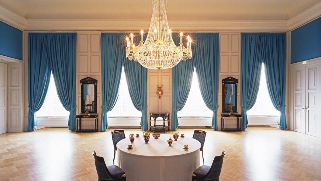 Blauer Salon von Schloss Mannheim