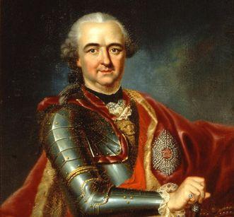Portrait of Carl Theodor by Heinrich Carl Brandt, circa 1767, Mannheim Palace. Image: Staatliche Schlösser und Gärten Baden-Württemberg, Steffen Hauswirth