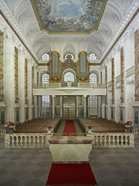 Mannheim Baroque Palace, Musical instruments in the exhibition