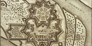 Copper engraving of the city and citadel, 17th century.