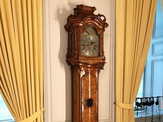 Barockschloss Mannheim, Erlebnisrau Hofmusik, Möllinger Uhr