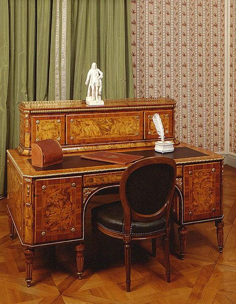 Mannheim Baroque Palace, Writing desk