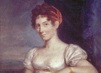Porträt der Großherzogin Stéphanie von Baden, Pierre-Paul Prud'hon, Aquarell um 1820, Schloss Mannheim