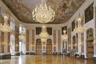 Mannheim's grandest room: the Rittersaal