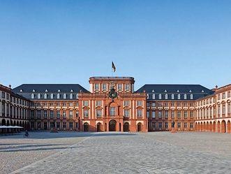 Château Baroque de Mannheim, Vue extérieure