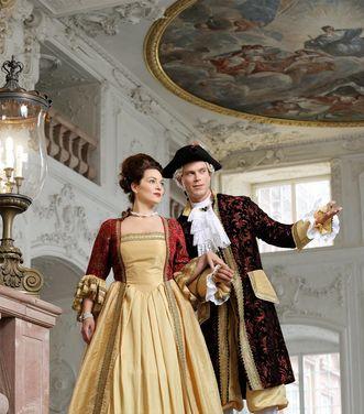 Mannheim Baroque Palace, costume photo session