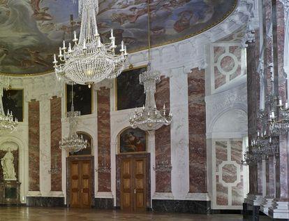 Barockschloss Mannheim, Rittersaal