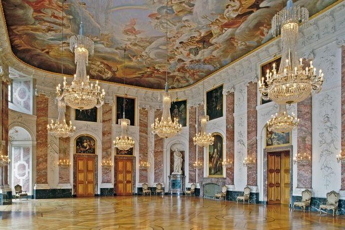 Salle des Chevaliers du château de Mannheim
