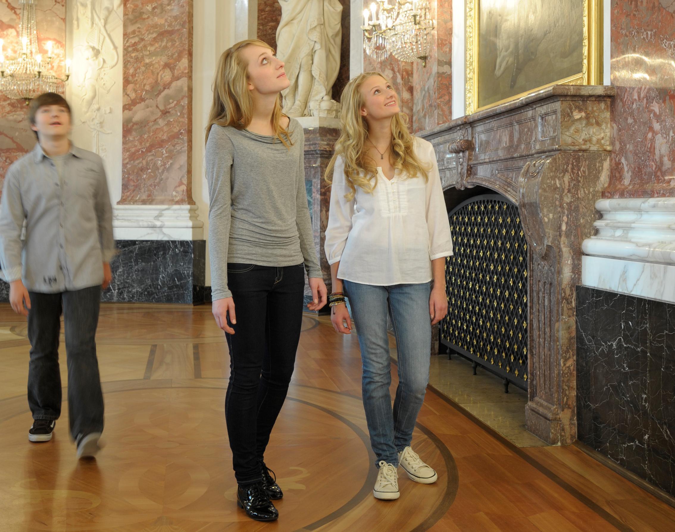 Barockschloss Mannheim, Besucher